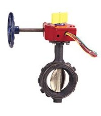 NIBCO  2 Butterfly Valve WD3510-4 250psi UL/FM Wafer Type with Supervisory switch  ราคา 9240.- บาท