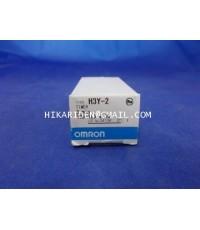 OMRON H3Y-2 3MIN (100-120VAC) ราคา 640 บาท
