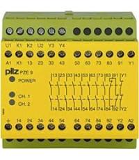 PILZ PZE 9 110-120VAC 8n/o 1n/c