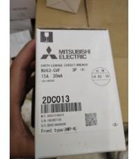 MITSUBISHI NV63-CVF 3P 15A 100-440V 30MA ราคา 3874 บาท