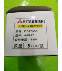 MITSUBISHI LITHIUM BATTERY A6BAT 3.6V ราคา 400 บาท
