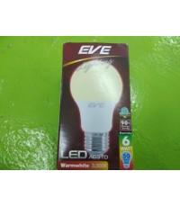 EVE LED A60 TD 6W WARMWHITE 3000K ราคา 85 บาท