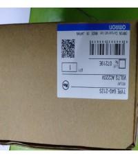 OMRON G4Q-212S 220VAC ราคา 1521 บาท