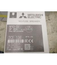 MITSUBISHI NF63-SV 3P 60A ราคา 1396 บาท