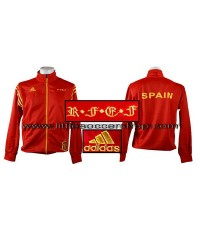 เสื้อวอร์มทีมชาติสเปน สีส้ม
