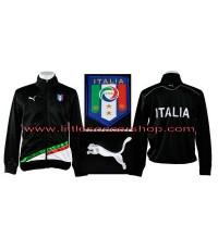 เสื้อวอร์มทีมชาติอิตาลี สีดำ