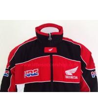 เสื้อแจ็คเก็ตทีมรถจักรยานยนต์ฮอนด้า