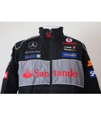 เสื้อแจ็คเก็ตทีมรถแข่งเมอร์เซเดส-เบนซ์ (ลายใหม่)