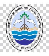 Logo กรมทรัพยากรทางทะเลและชายฝั่ง