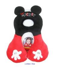 หมอนรองคอและศีรษะ ขนาด 1-4 ปี - Head support ( ลาย: Mickey) ส่งฟรี EMS