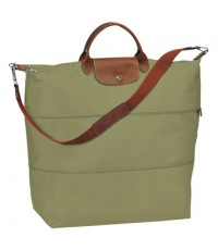 Pre-order กระเป๋าเดินทาง Longchamp  Le Pliage  Travel Bag  สี : Kaki (Summer 2012)
