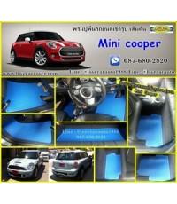 ผ้ายางปูพื้นรถยนต์เข้ารูป Mini Cooper