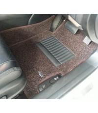 พรมดักฝุ่นปูพื้นรถยนต์ Audi A5 ไวนิลสีนำตาล