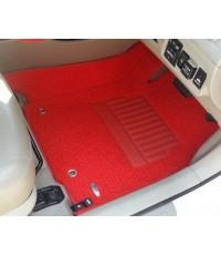 พรมดักฝุ่นปูพื้นรถยนต์ Audi A5 ไวนิลสีแดง