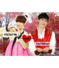 We Got Married Nichkhun (2PM)  Victoria EP1-53 (27 DVD) ซับไทย ยังไม่จบคะ