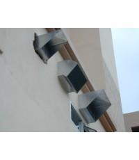 เครื่องดูดควัน+ดูดอากาศใช้ในครัวโรงแรม No.B19