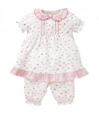 NISHI Pajamas Set (Made in Japan) ชุดนอนน่ารักผ้านิ่มมากๆ ไซส์ 95 ค่ะ [สินค้านำเข้า]