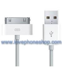 สายชาร์จ iPhon4 อย่างดี IOS7 Support FOR IPHONE4/4S/3G/3GS/IPAD2/3 (ส่งฟรี)
