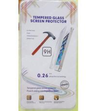แผ่น ฟิลม์แก้วกันรอย GLASS 0.26mm Screen Protector for iPhone 4/4S ส่งฟรี!!!