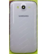 ชุดเคสกลางและฝาหลัง Samsung Galaxy GRAND(I9082) สีขาว (Cover Case Original Genuine Part) ส่งฟรี!!!