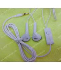 หูฟัง แท้ Samsung Galaxy Y/Cooper/Champ/ACE/Mini/S Dous/Pocket/Win/Fame/Neo/Rex ฯลฯ สีขาว ส่งฟรี!