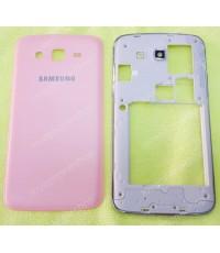 ชุดเคสกลางและฝาหลัง Samsung Galaxy Grand 2(G7106) สีชมพู (Original Genuine Part) ส่งฟรี!