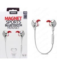 หูฟัง MAGNET SPORTS BLUETOOTH HEADSET S2 by Remax สีขาว (แท้) ส่งฟรี!!!
