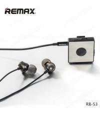 Remax s3 Sport Clip-on Bluetooth Headset (Black) (แท้) ส่งฟรี!!!
