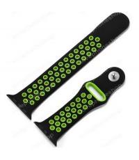 สาย Apple Watch Nike Sport Band 2 โทน สีเหลือง-ดำ (รองรับ Series1/2/3/4) 42,44 mm. (ส่งฟรี)