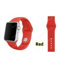 สายนาฬิกา Apple Watch สีแดง (รองรับ Series1/2/3/4) 42,44 mm. (ส่งฟรี)