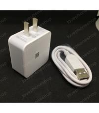 ชุดสายชาร์ต+หัวชาร์ต OPPO รุ่น AK717  Power Adapter with 95cm Micro USB Cable Set ( สีขาว ) ส่งฟรี!!