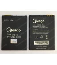 แบตเตอรี่ มอก. Meago ZTE Dtac Happy Phone C570 ส่งฟรี!!