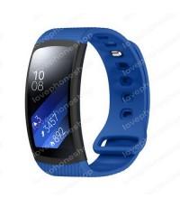 สายนาฬิกา Samsung Gear Fit2, Fit2Pro (SM-R360,R365,R366) แบบSport สีฟ้า ส่งฟรี!!