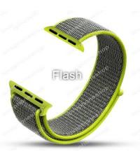 สายนาฬิกา Apple Watch Nylon Sport Loop ผ้าไนล่อนใส่สบาย สีFlash(For Series1/2/3/4) 38,40mm.