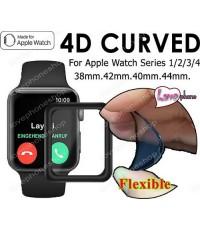 สุดยอดฟิล์มกันรอย Flexible screen protector Film For Apple Wacth 38mm.(รองรับ Series1/2/3) ส่งฟรี!!