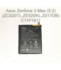 แบตเตอรี่แท้ Asus Zenfone 3 Max (5.2) (ZC520TL,ZE520KL,Z017DB) รหัส C11P1611 ส่งฟรี!!
