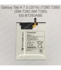แบตเตอรี่ แท้ Samsung Galaxy Tab A 7.0 (2016) (T280,T285) รหัส EB-BT280ABE  4000mAh (ส่งฟรี)