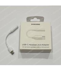 ของแท้ USB-C Headset Jack Adapter to 3.5mm Headphone Samsung แปลงหูฟัง3.5 ใช้กับ Usb Type-C ส่งฟรี!!
