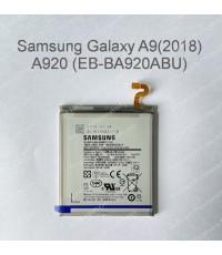 แบตเตอรี่ แท้ Samsung Galaxy A9 2018, A920 (EB-BA920ABU) 3800mAh (ส่งฟรี)