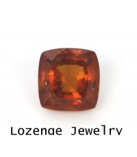 พลอยสเปสซาไทต์การ์เนตSpessatite Garnetสีส้มแดง 5.13 ct