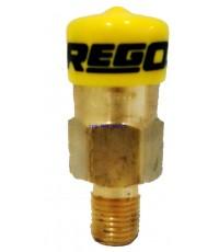 เซฟตี้รีลีฟวาล์ว ยี่ห้อ Rego รุ่น 3127G แรงดัน 250Psi ขนาด 1/4นิ้ว