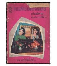 แบบหัดอ่านหนังสือไทย เล่มปลาย ชั้นประถมปีที่ 1