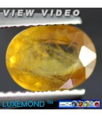พลอยแท้บุษราคัม (Yellow Sapphire) 1.91 กะรัต (G279-132)