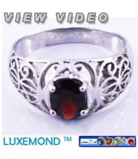แหวนพลอยโกเมนแท้หนัก 0.89 กะรัต R1-32