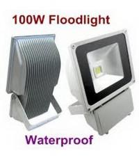 สปอร์ตไลท์ LED 100W.ให้ท่านลดค่าไฟลงมากกันน้ำได้