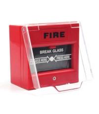 FIRE Break Glass Resettable Manual
