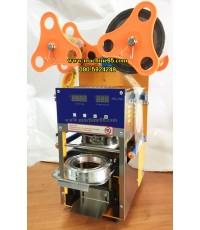 เครื่องซีลฝาแก้วอัตโนมัติ ออโต้ นับแก้วได้ 07 (ปากแก้ว 9.5 ซม.) ปิดฝาแก้วได้ 3 ขนาด
