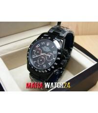 M0216 นาฬิกา Rolex Cosmograph Daytona Limited Black PVD 40mm. Mirror