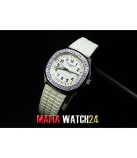 M0222 นาฬิกา Patek Philippe Lady Aquanaut Luce  Mirror Ref. 5067A