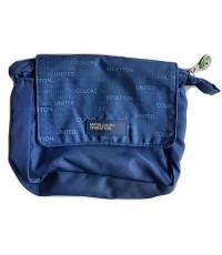 กระเป๋าผ้าร่มใส่ของหรือเครื่องเขียน สีน้ำเงิน BENETTON